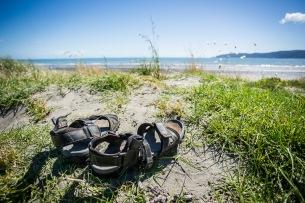 Jandals on Dunes - NZNK169129
