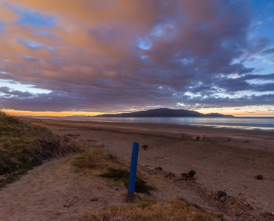 Waikanae Beach Twilight - NZNK169173