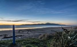 Raumati Beach at Twilight - NZNK169317